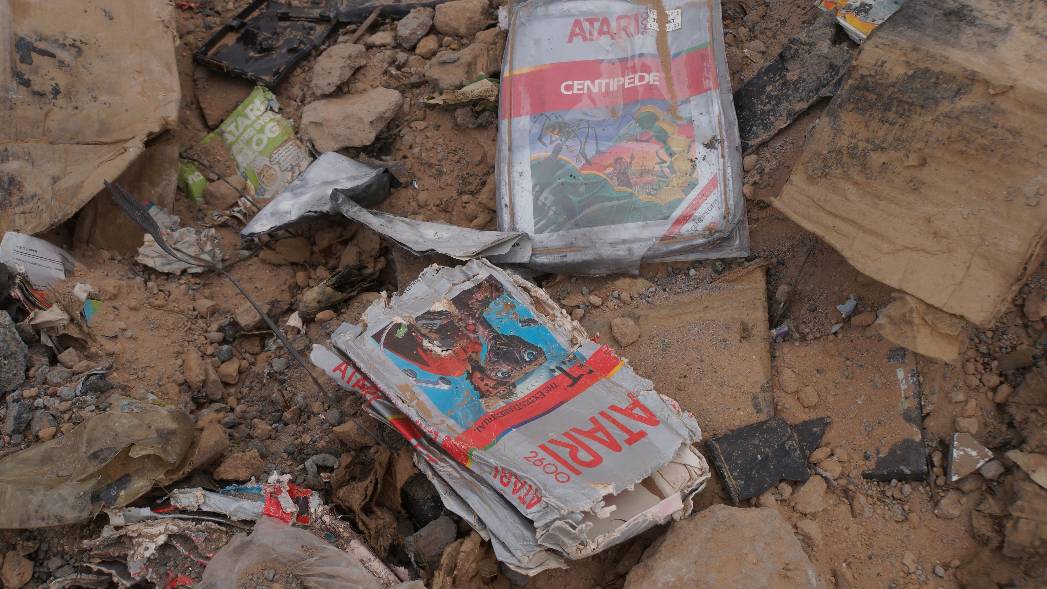 Gamle Atari-spill fra søppelfylling har solgt for nesten 1 million kroner