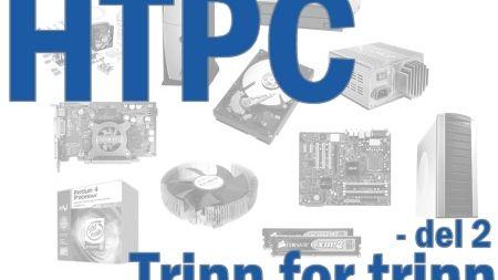 HTPC trinn for trinn - del 2