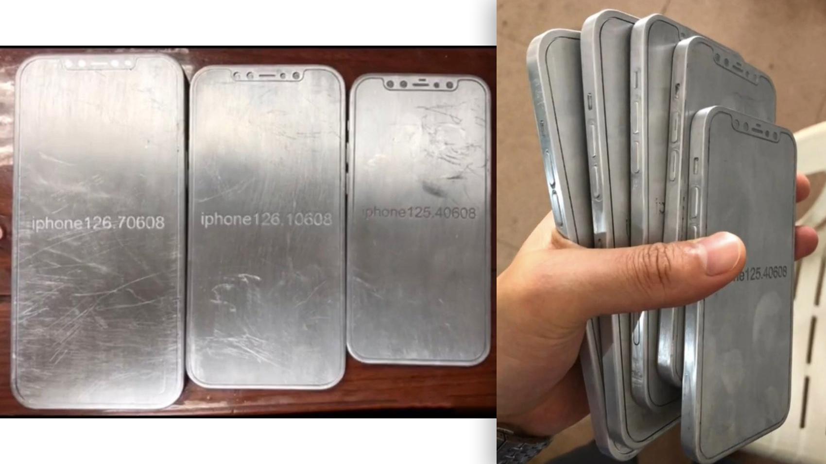 Dette skal være modeller av kommende iPhone 12.