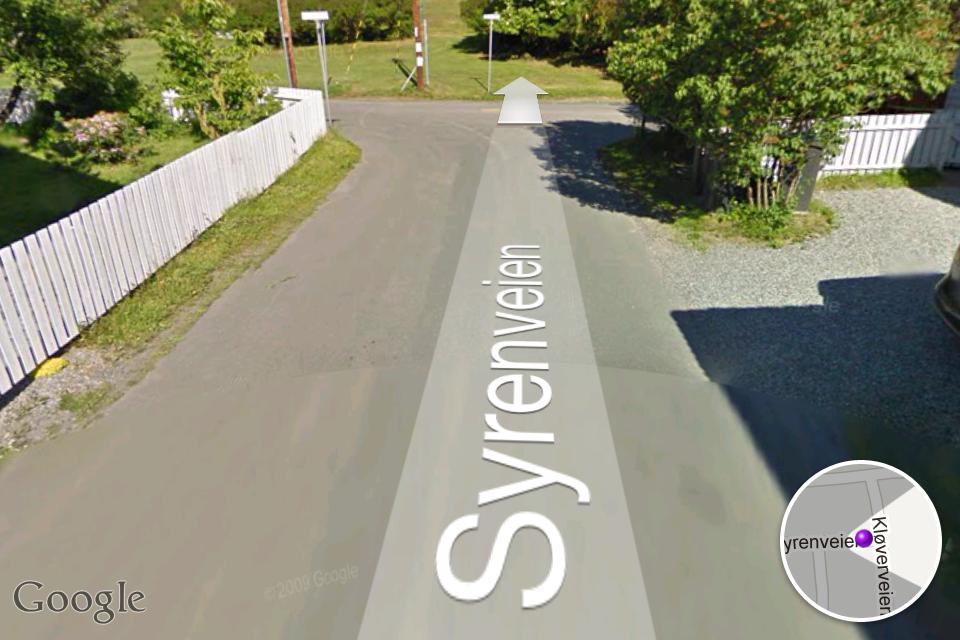 Street View har vært på iPhone siden 2008, men blir nå helt borte i neste versjon av iOS.Foto: Øystein W. Høie, Amobil.no