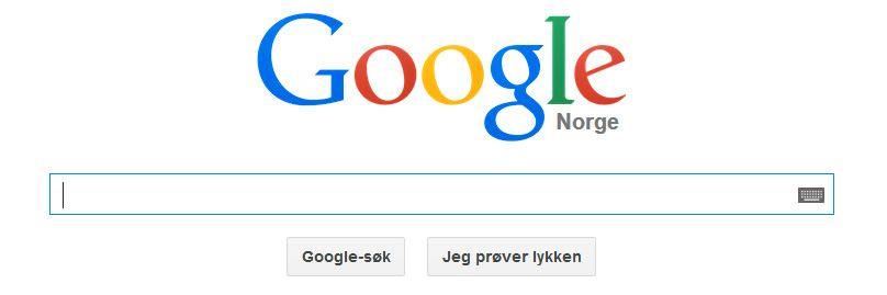 Dersom Europaparlamentet får med seg EU-kommisjonen på forslaget, kan Google bli nødt til å skille søkemotoren sin fra andre kommersielle produkter.Foto: Skjermdump, Google