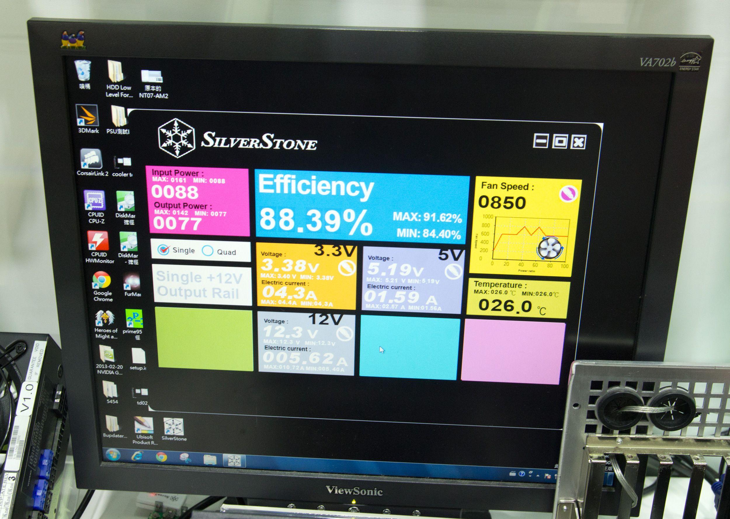 Silverstones nye strømforsyninger kan styres med jernhånd. .Foto: Rolf B. Wegner, Hardware.no