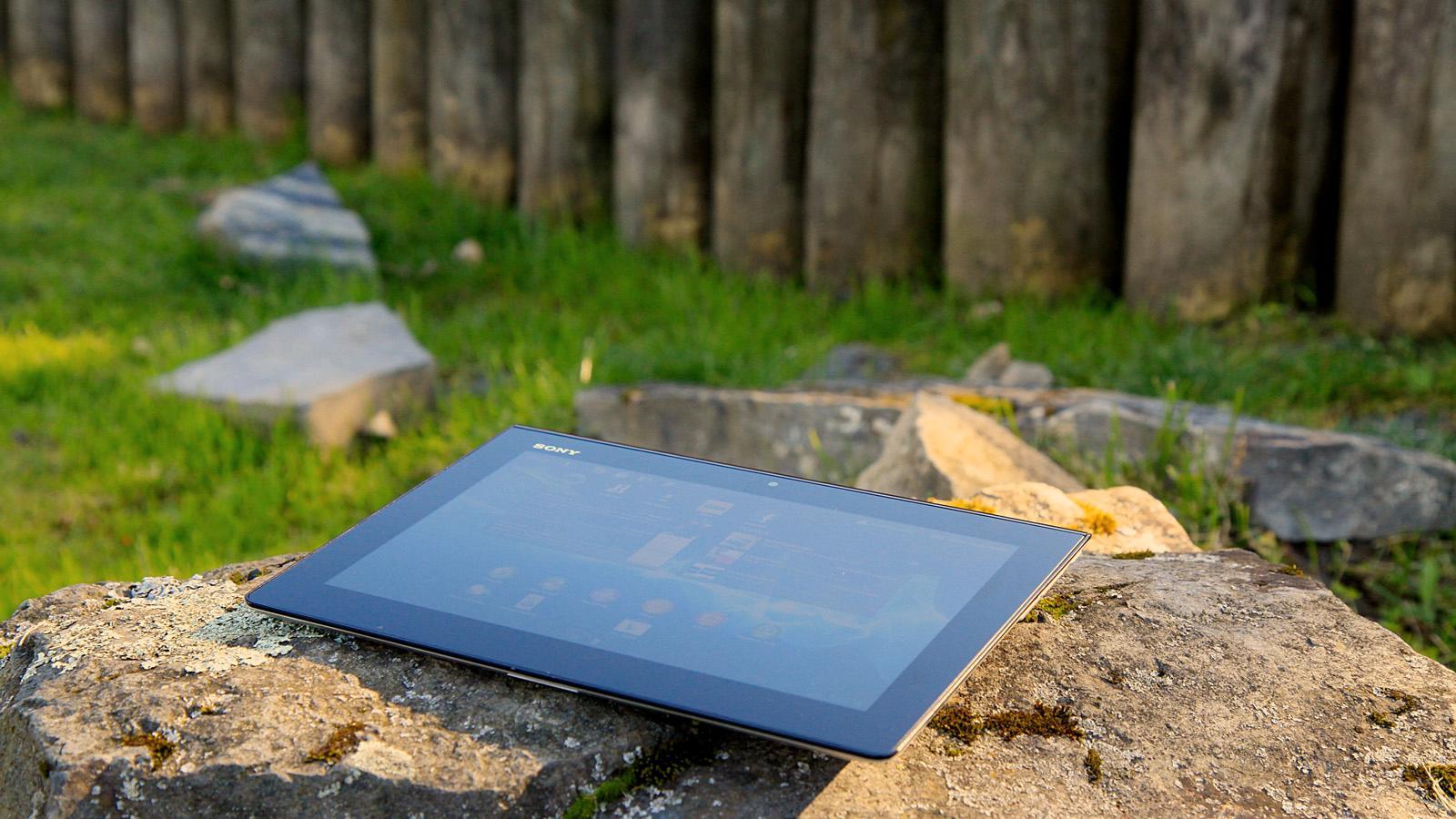 Sony Xperia Tablet S. .Foto: Kurt Lekanger, Amobil.no