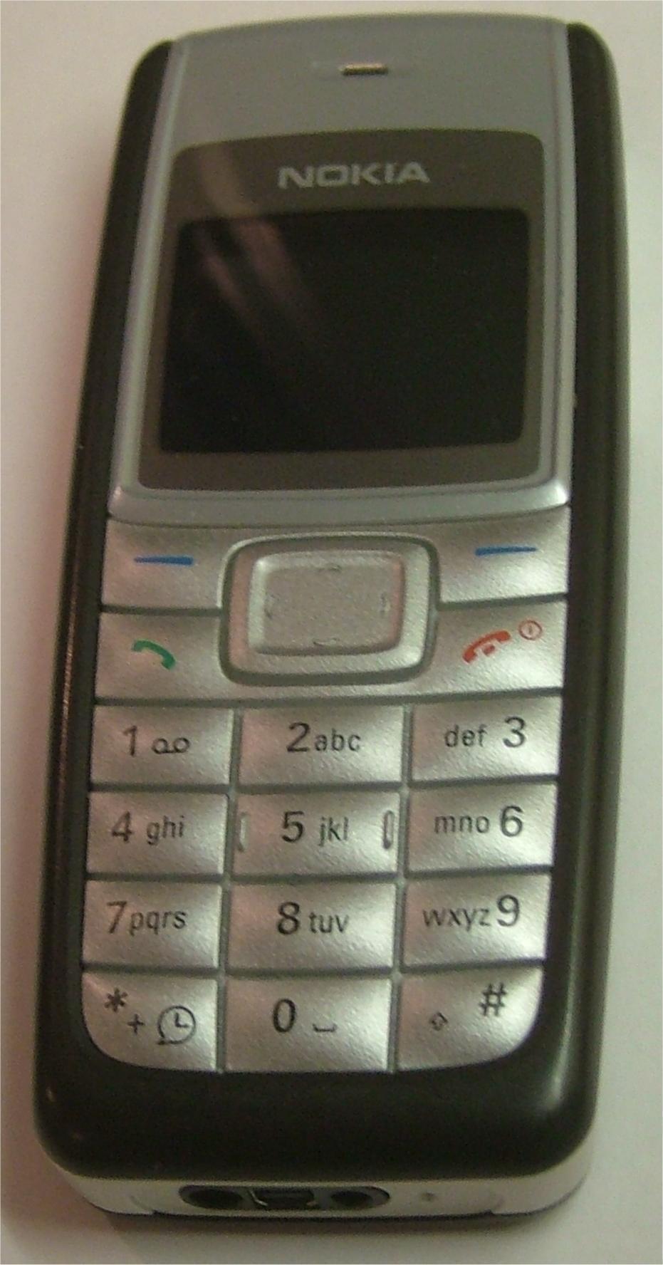 Nokia 1110 har solgt i utrolige 250 millioner eksemplarer siden den kom i 2005.Foto: Wikipedia, Public Domain