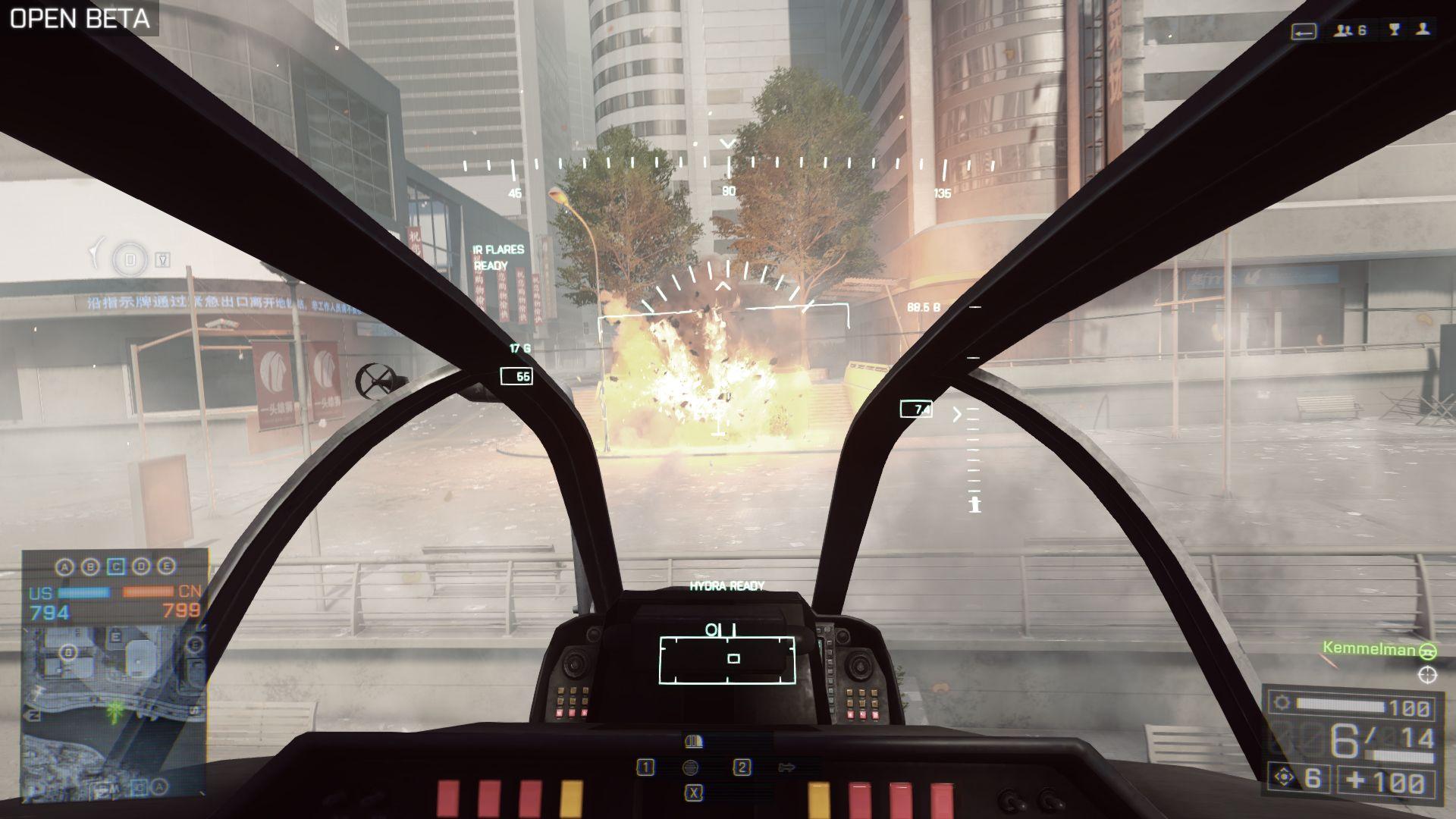 Gjør deg klar for heftig skyting og gal helikopterkjøring.