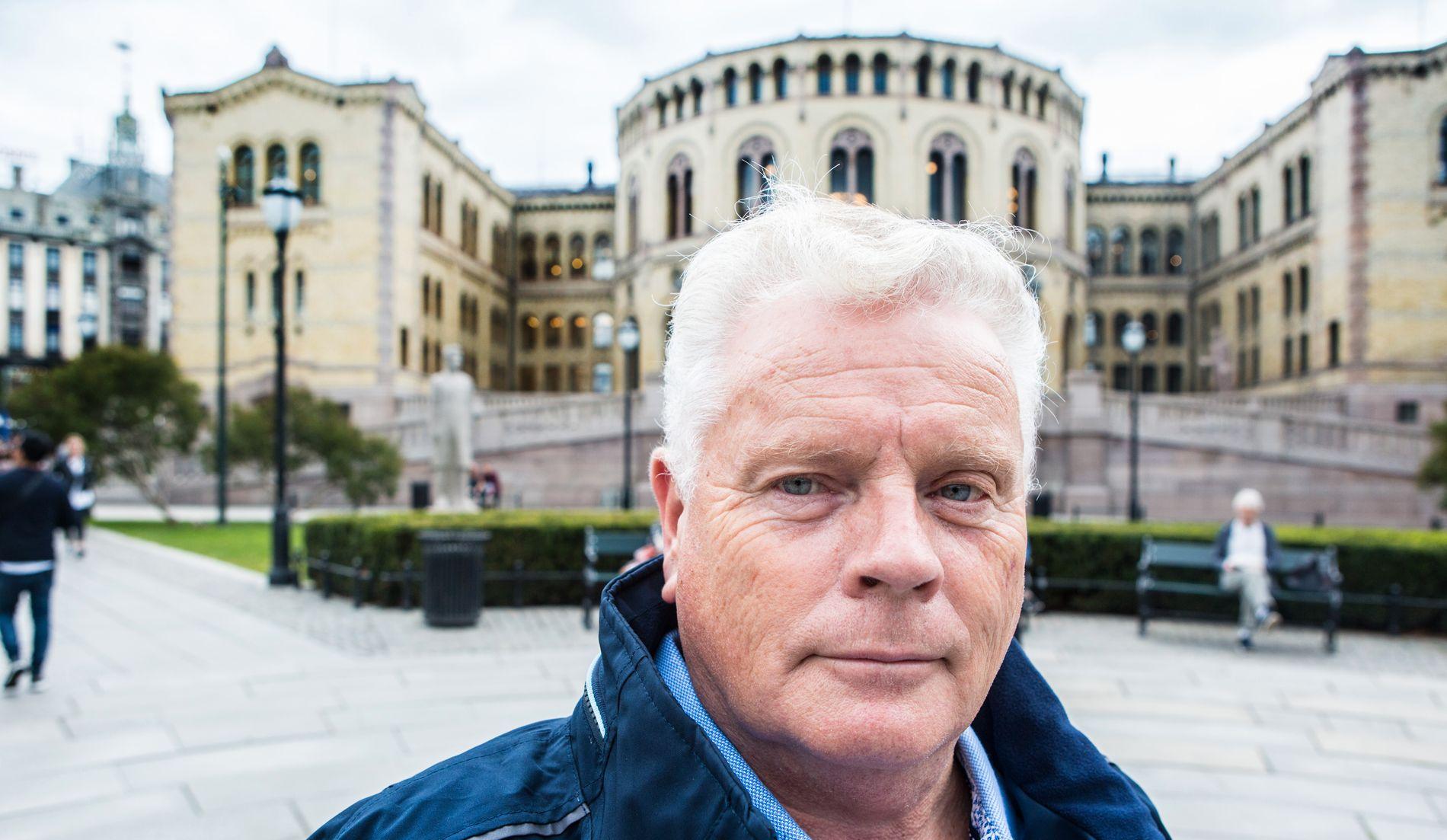 KJEMPER: Forbundsleder Jan Davidsen er stolt over at pensjonistene endelig får mer etter å ha tapt kjøpekraft i flere år.
