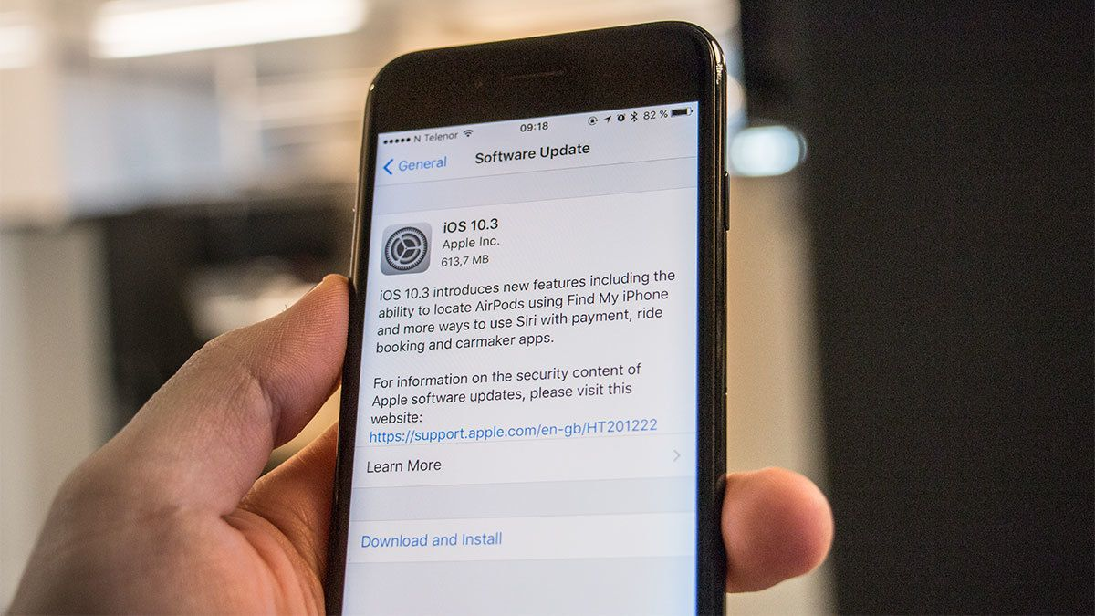 Apple ruller ut iOS 10.3 til alle enheter – Dette er nytt