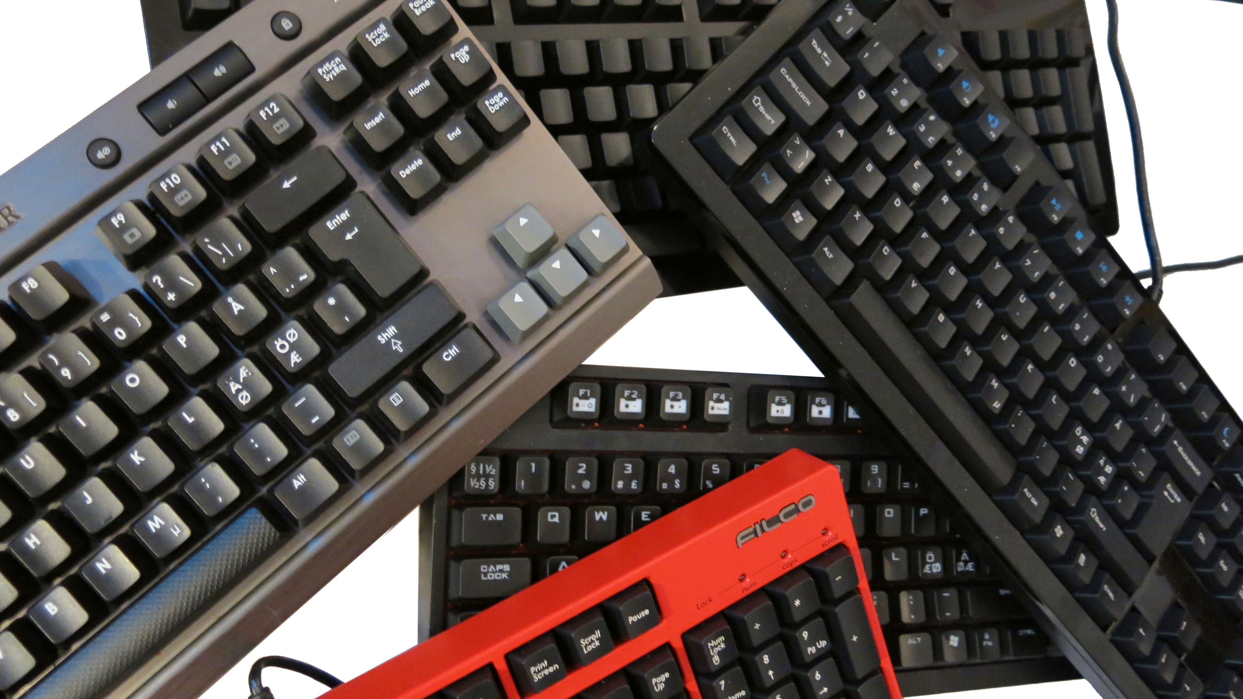 Mekaniske spilltastaturer