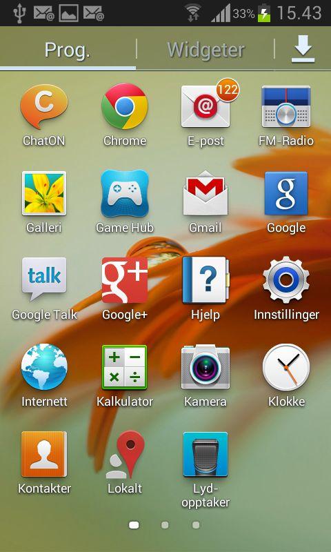 Visuelt er menyene i Galaxy S III Mini like de du finner i storebror. Brukeropplevelsen er imidlertid langt dårligere.