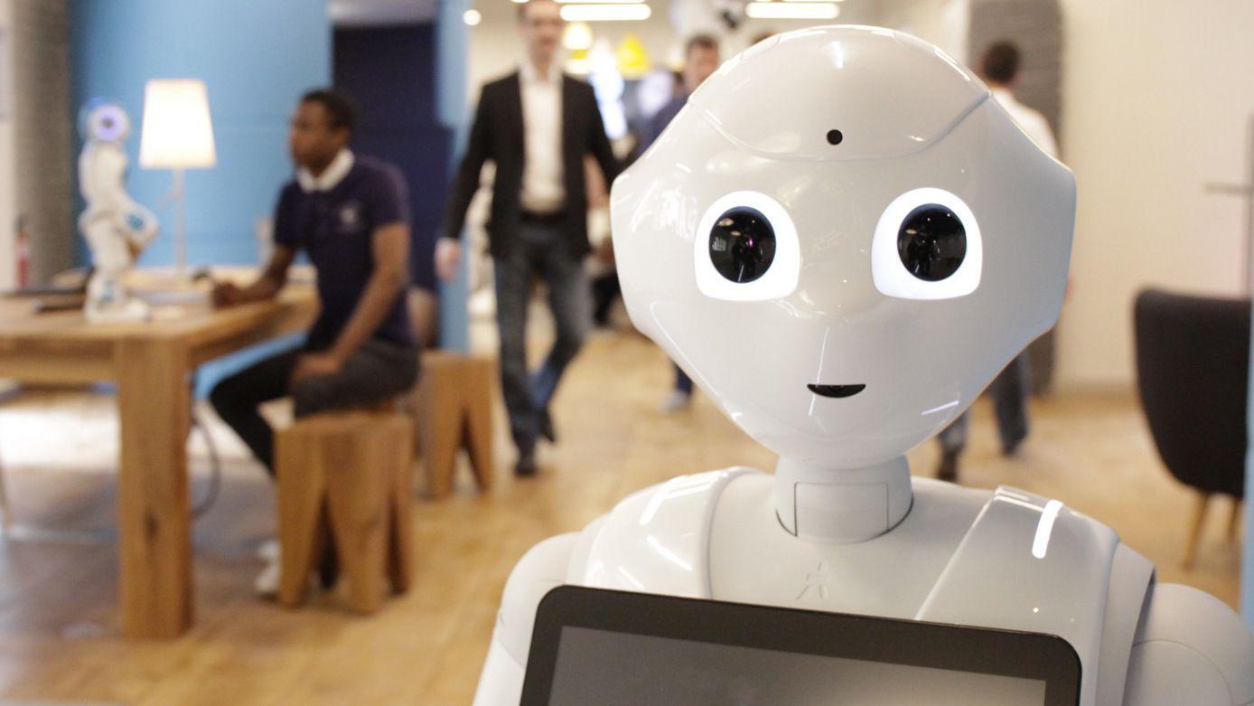 Den nye roboten Pepper ble utsolgt etter ett minutt