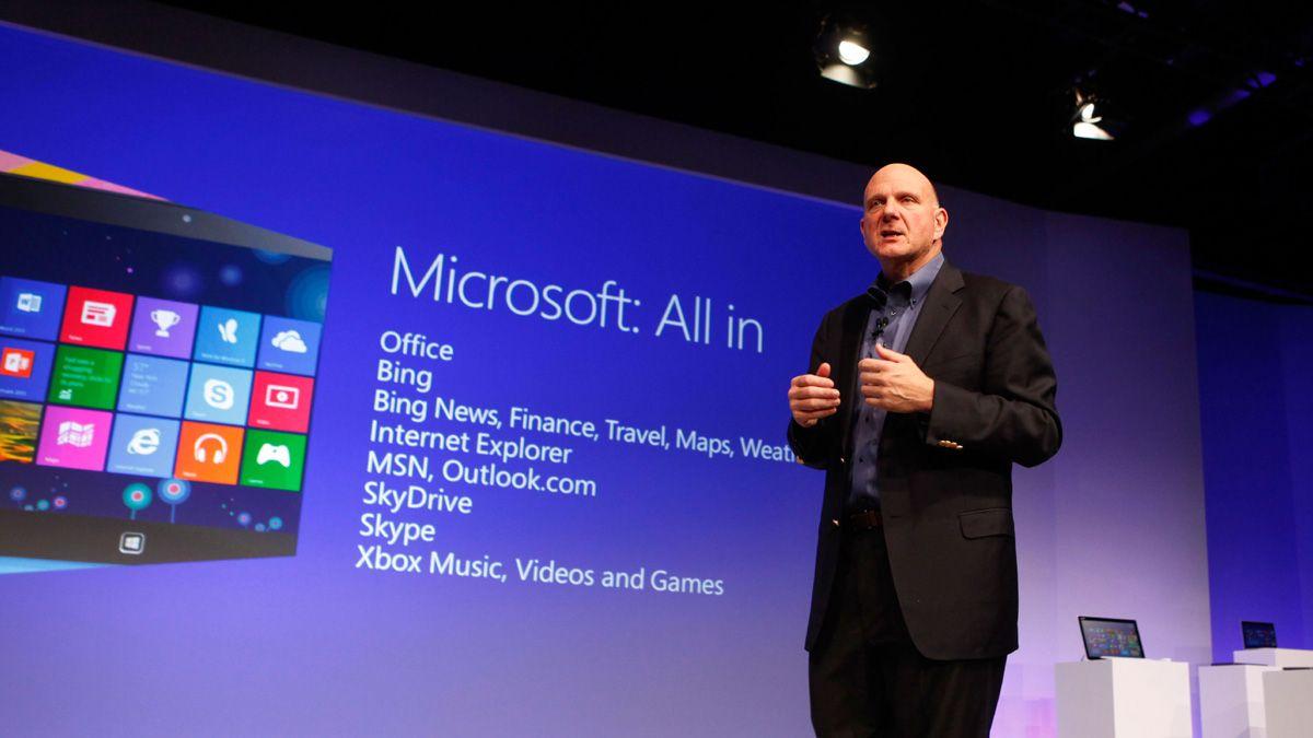 Windows 8-salget går tregt