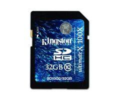 Kingston SD G2 32GB Klasse 10.