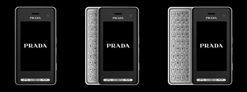 Den neste Prada-mobilen på vei