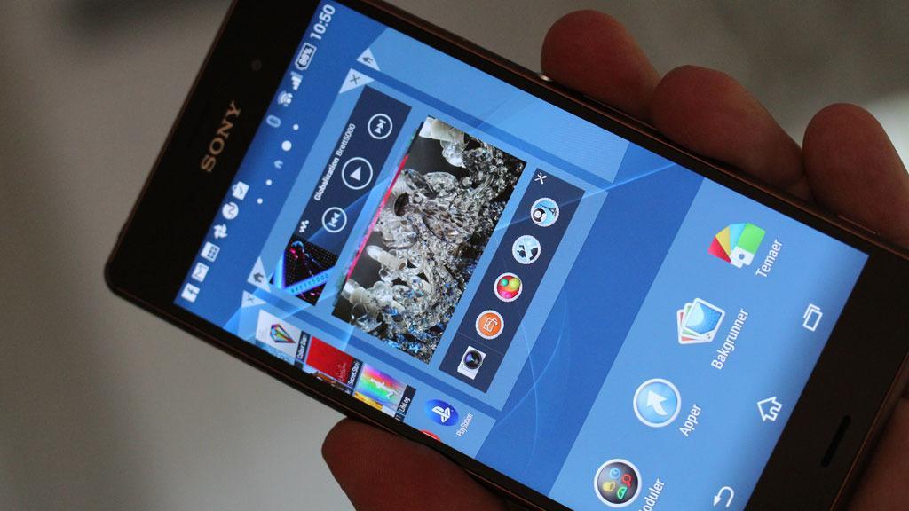 Nå har den nyeste Android-versjonen landet på Sonys toppmobil