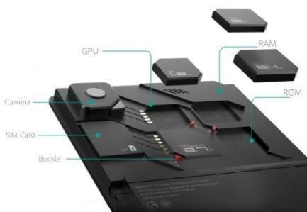 De ulike modulene skal enkelt kunne byttes ut.Foto: ZTE