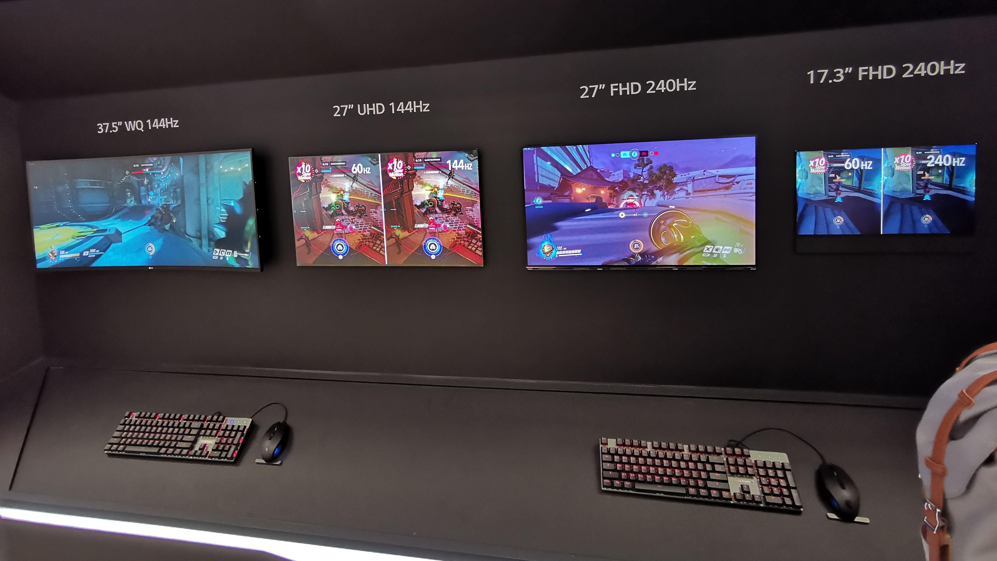 LG Display lager flere typer spill-paneler.