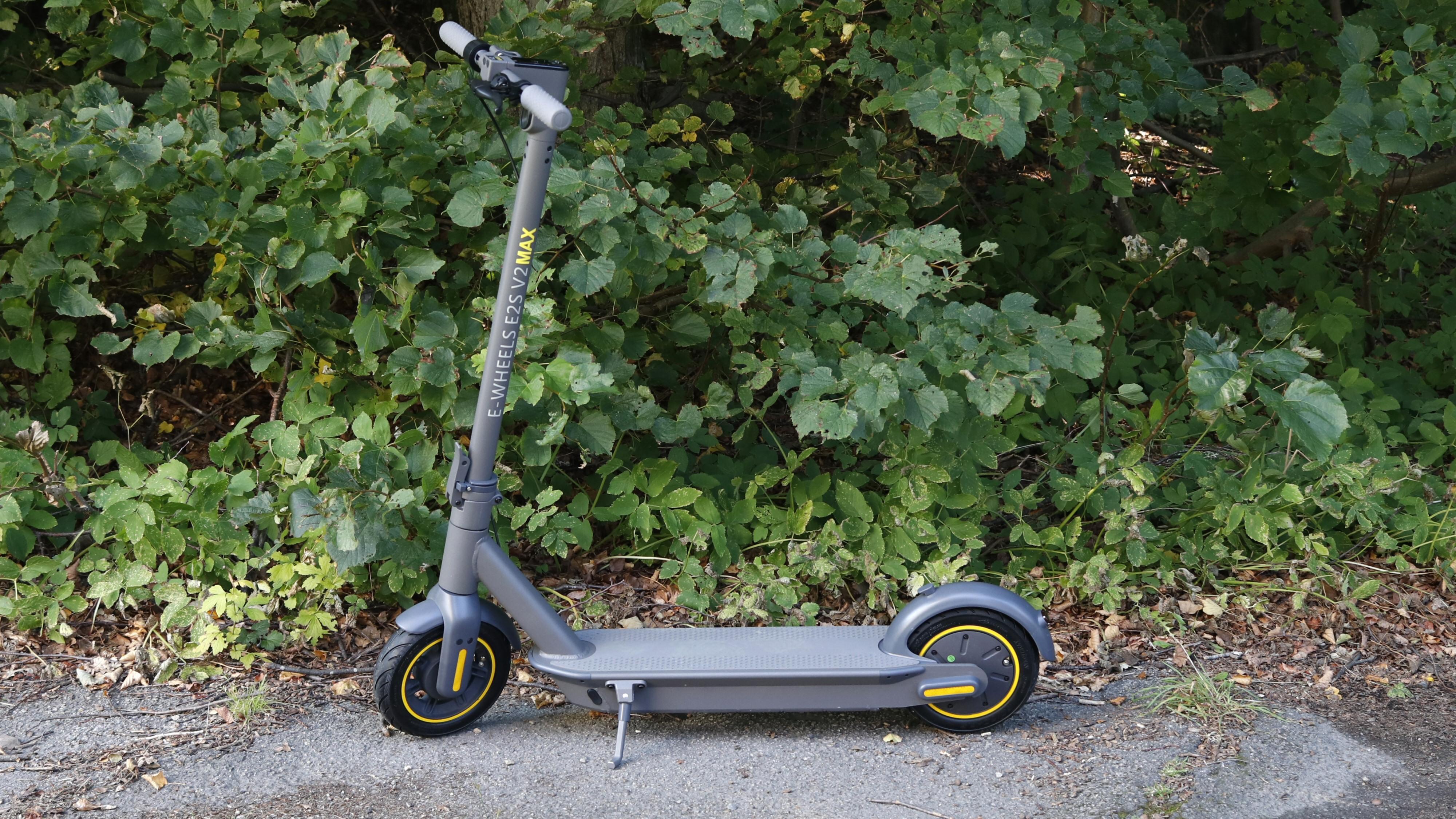 E-wheels' Max-modell er sterk, stor og tung