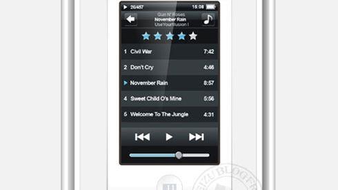 Med en touch av iPod Touch