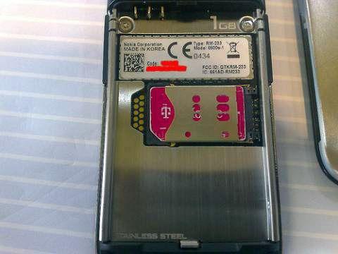 """""""1GB"""" er stemplet på baksiden. (Klikk for større bilde)"""