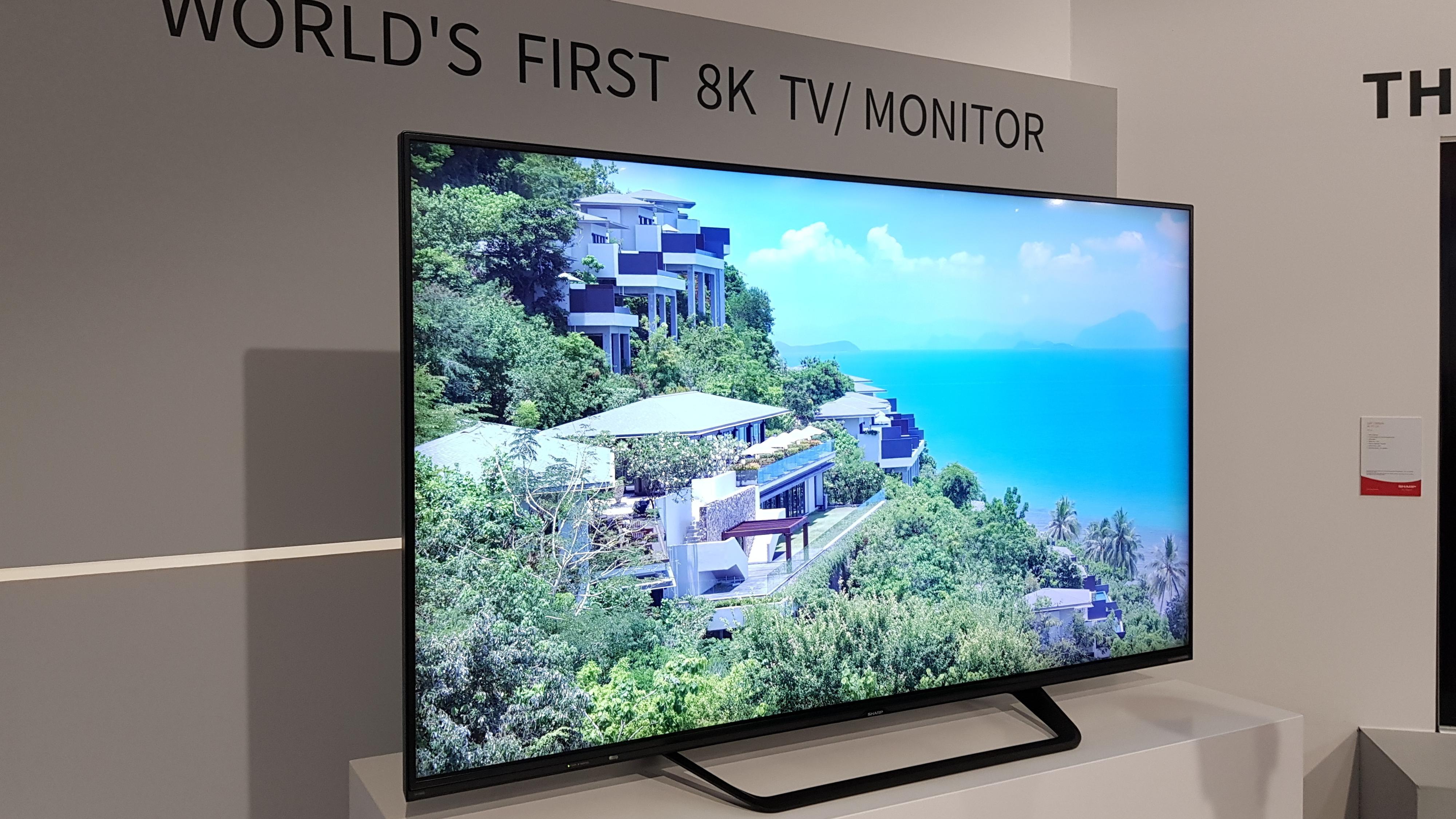 Verdens første 8K-TV slippes i Europa