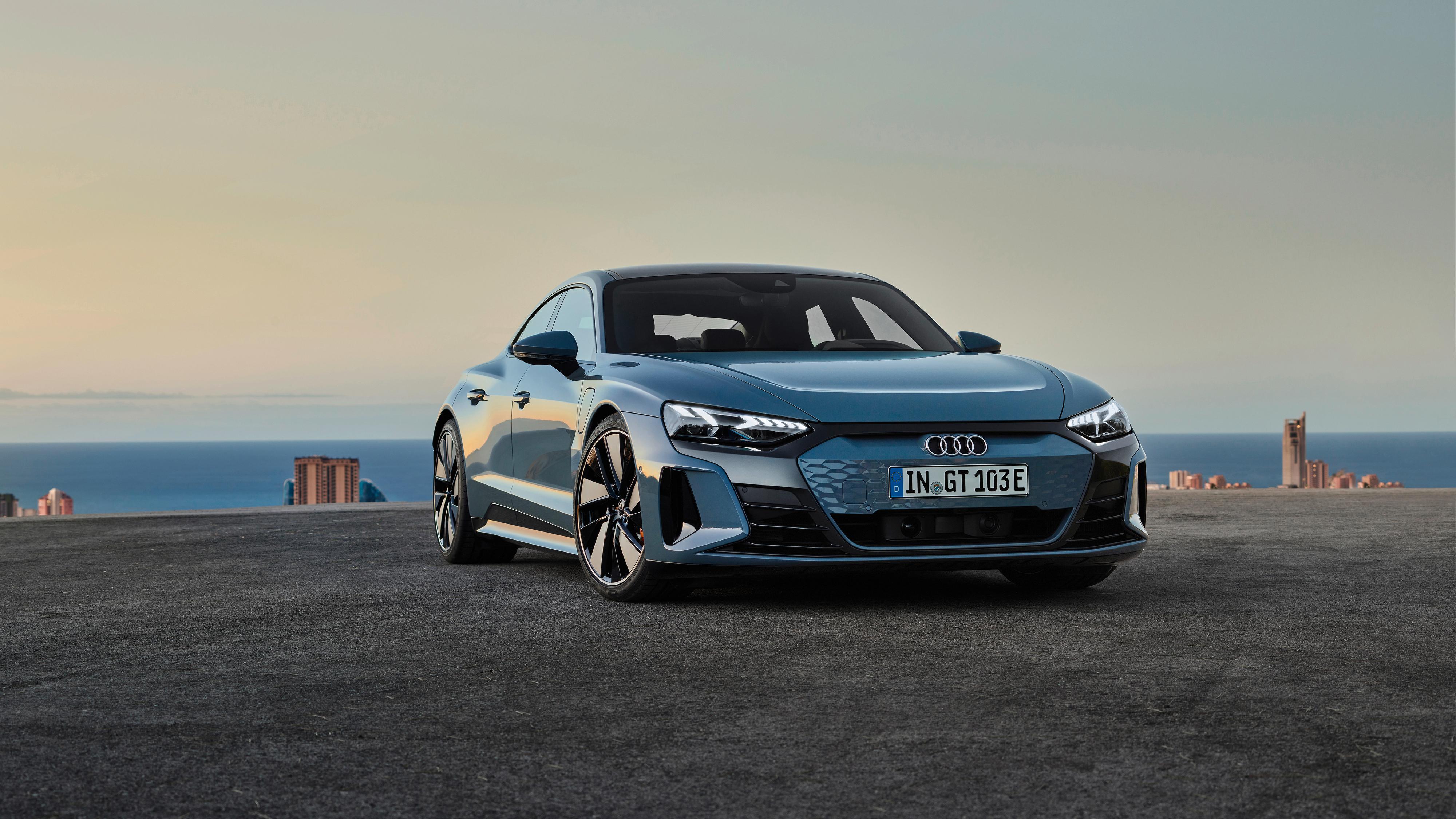Her er e-tron GT - Audis svar på Porsche Taycan