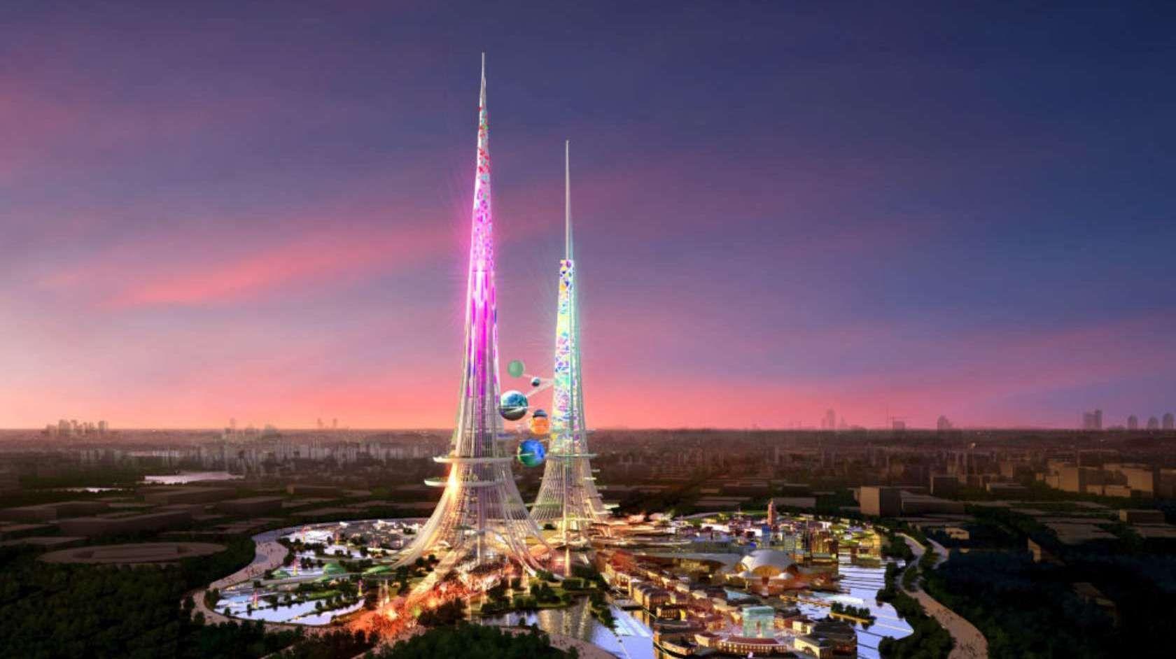 Dette kan bli verdens høyeste konstruksjon