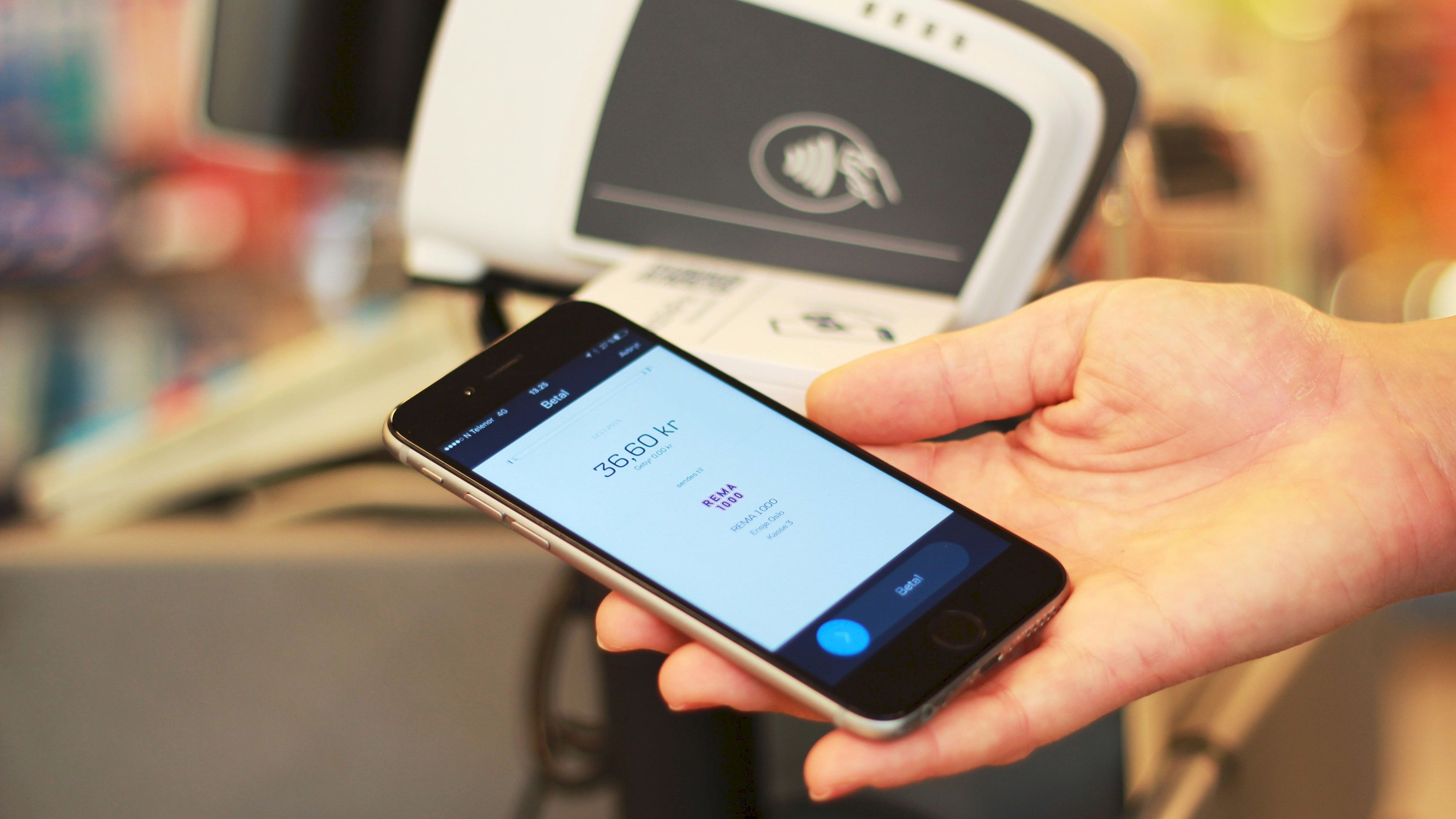 MobilePay har allerede rullet ut sin betalingsløsning i butikk...