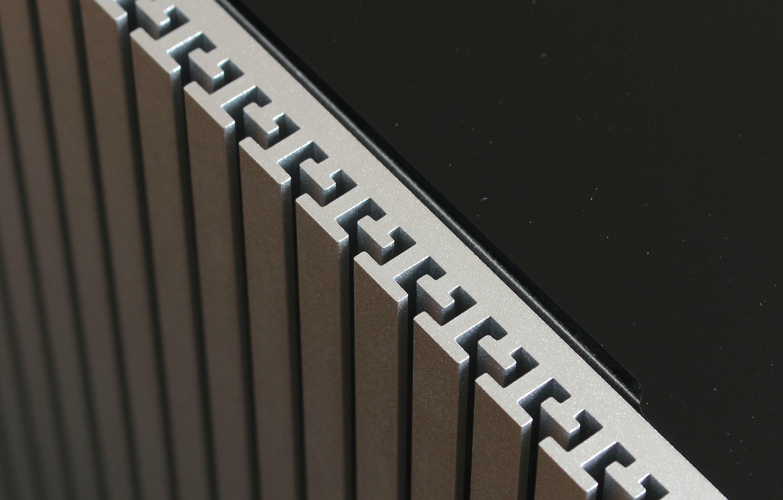 Sidepanelene er utformet slik at de har en ekstra stor overflate.