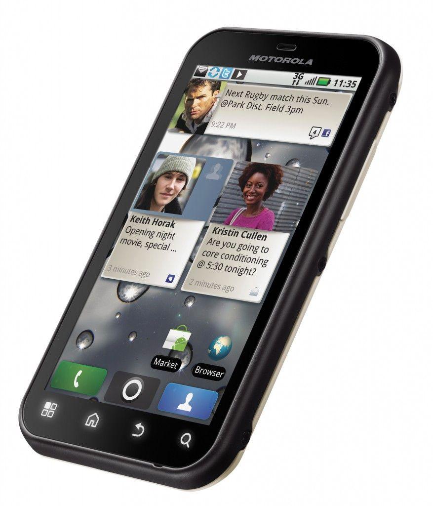 Gode smarttelefoner som er beskyttet mot fukt eller helt vanntette har blitt en trend. Den trenden var det Motorola som startet.