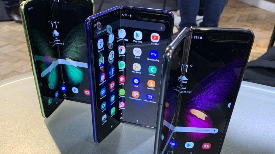 Samsung Galaxy Fold er snart på vei... igjen