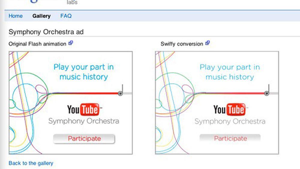 Konverterer Flash-animasjoner til HTML5