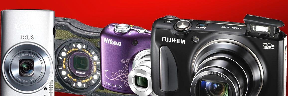 Se de nyeste kompaktkameraene