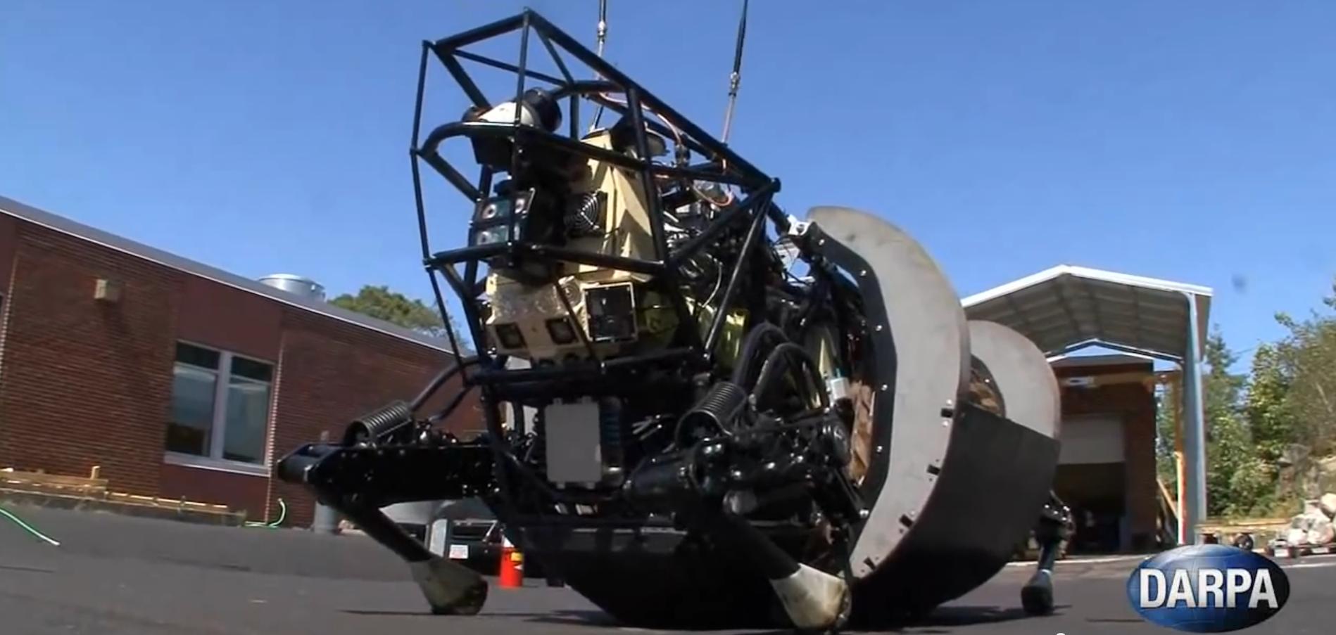 Alpha Dog, sitt!Foto: Boston Dynamics, DARPA