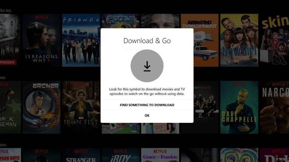 Netflix lar deg laste ned innhold før du reiser.