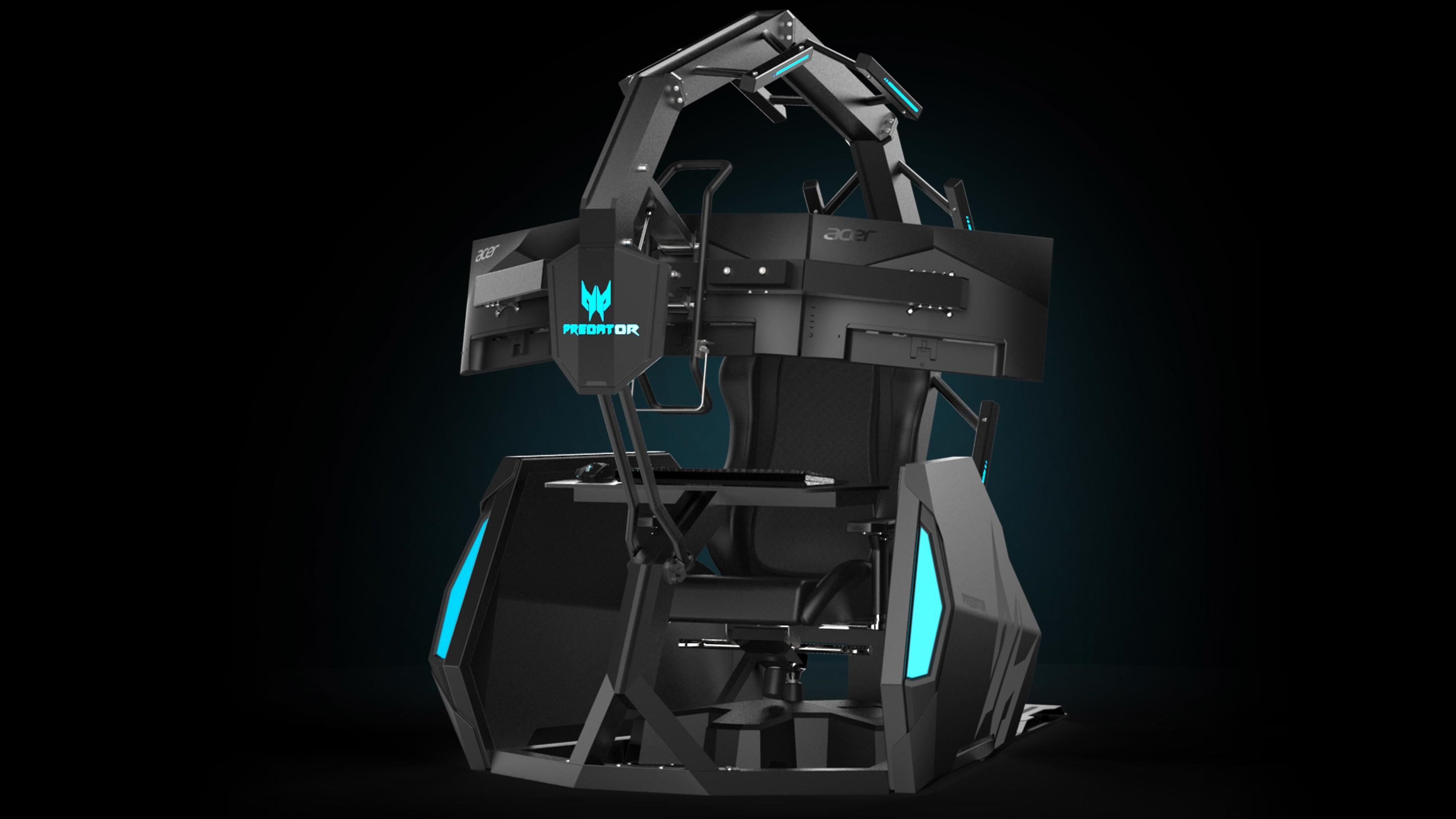 Acer avslører ny versjon av «gamingtronen» Thronos