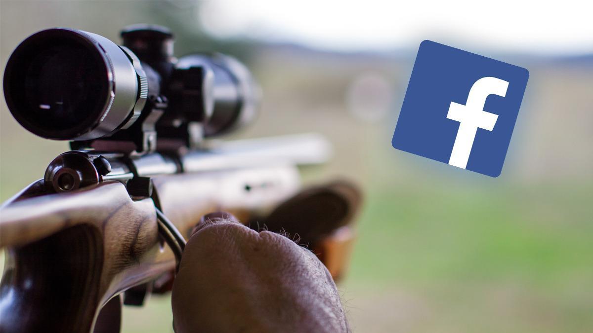 Nå er våpensalg forbudt gjennom Facebook