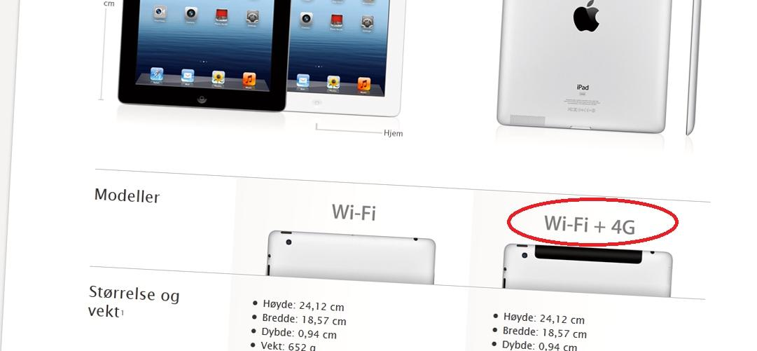 Myndighetene flere steder er kritiske til at iPad markedsføres som en 4G-enhet på steder der den ikke støtter 4G-nettene.