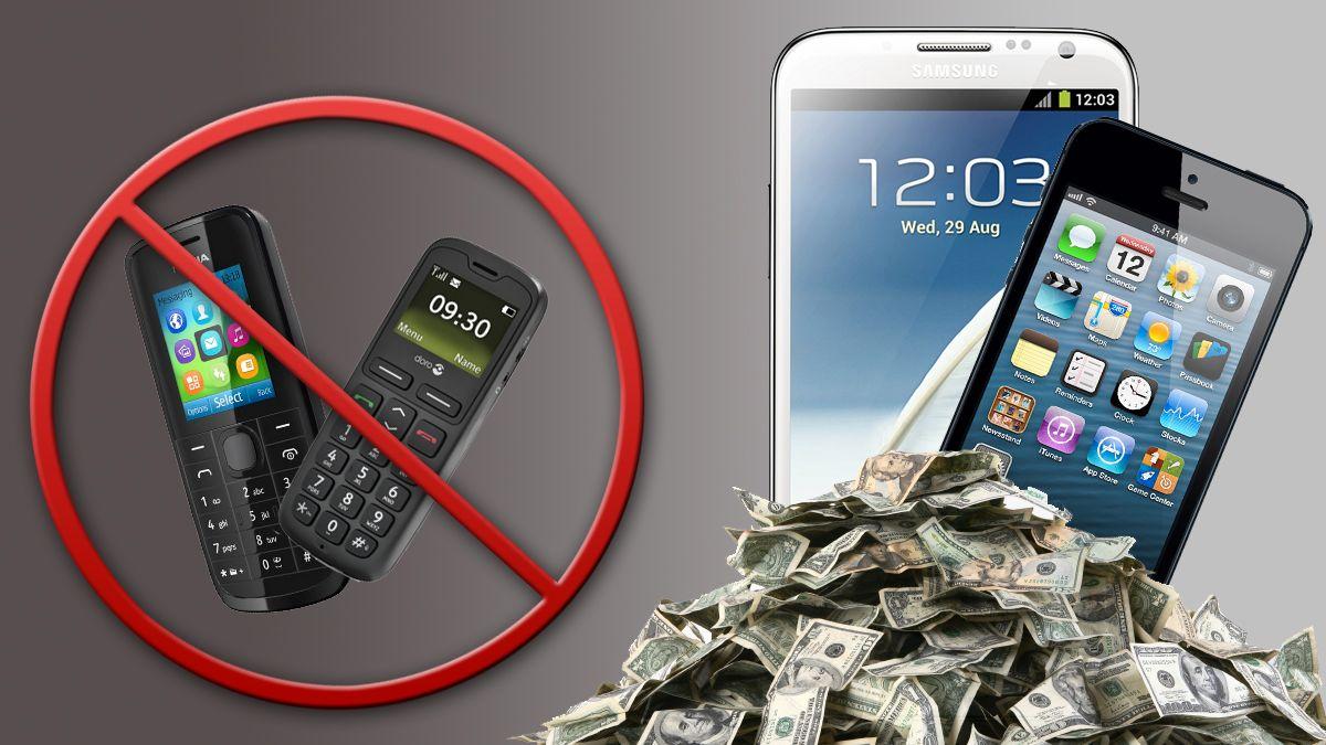 Nordmenn kjøper dyrere telefoner enn før