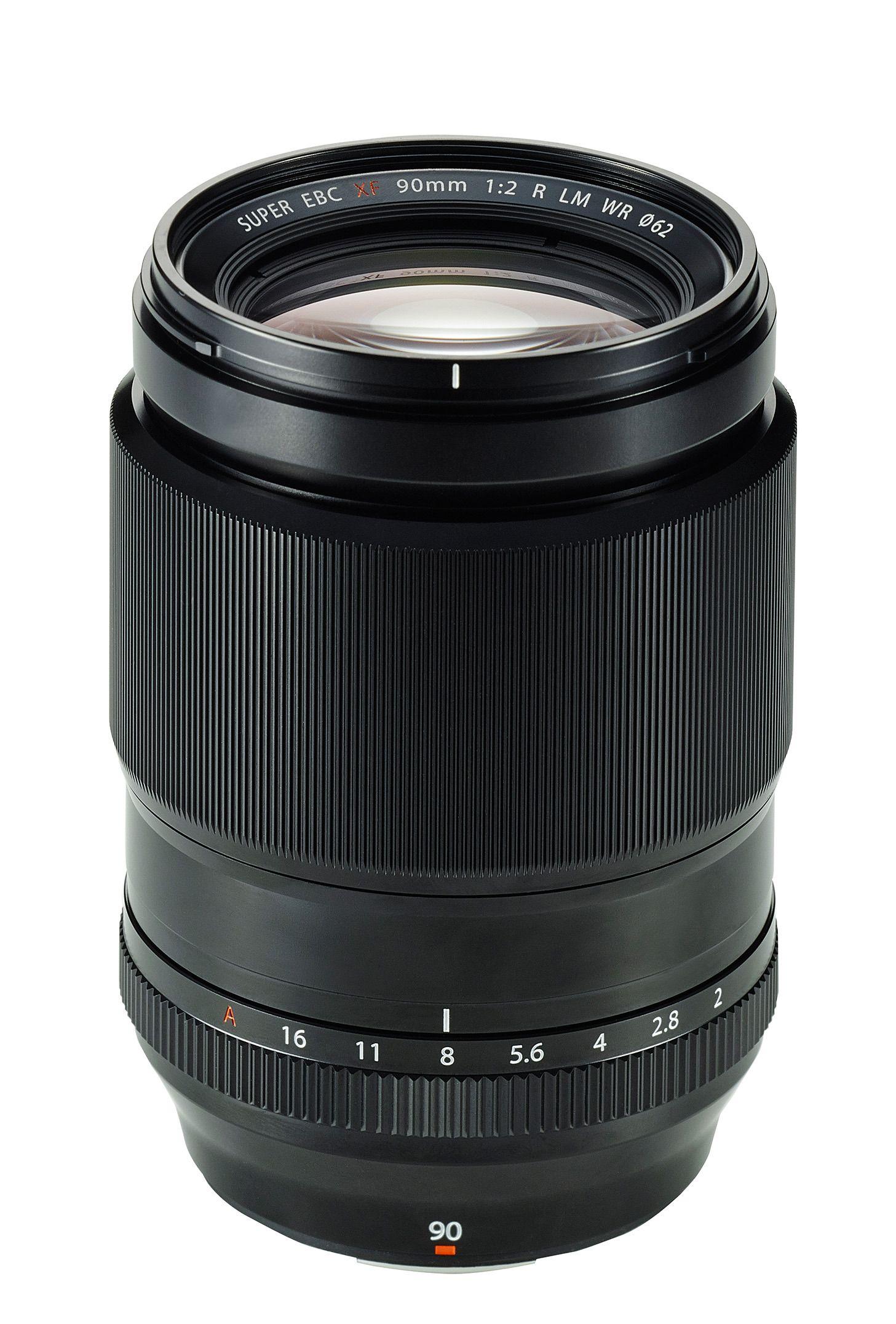 Fujinon XF 90mm F2 R LM WR. Foto: Fujifilm