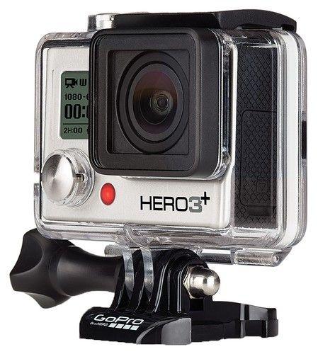 GoPro HD Hero 3+ Silver.