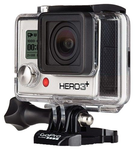 GoPro HD Hero 3+ Silver.