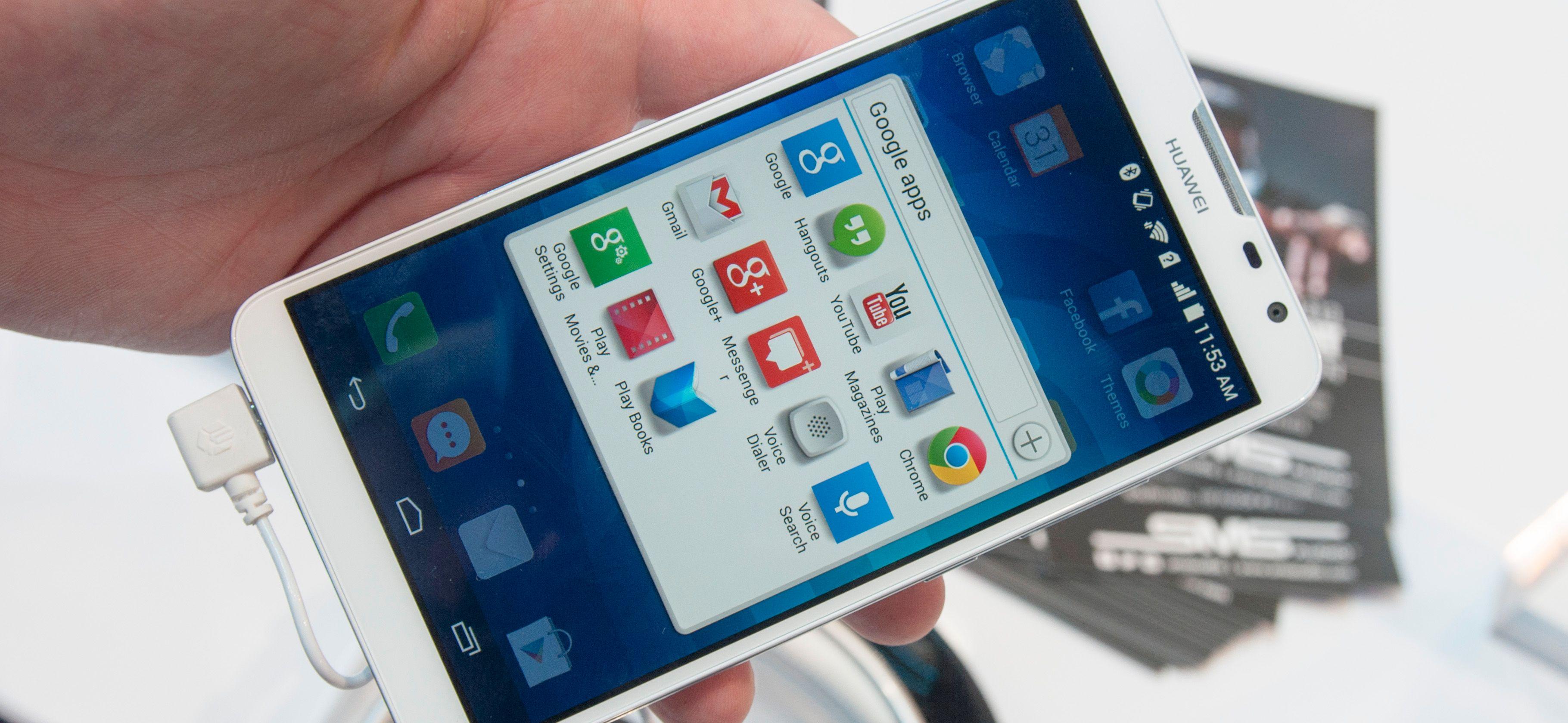 I likhet med andre nyere Android-telefoner fra Huawei, mangler også denne en app-meny. Det fordrer ryddighet.Foto: Finn Jarle Kvalheim, Amobil.no