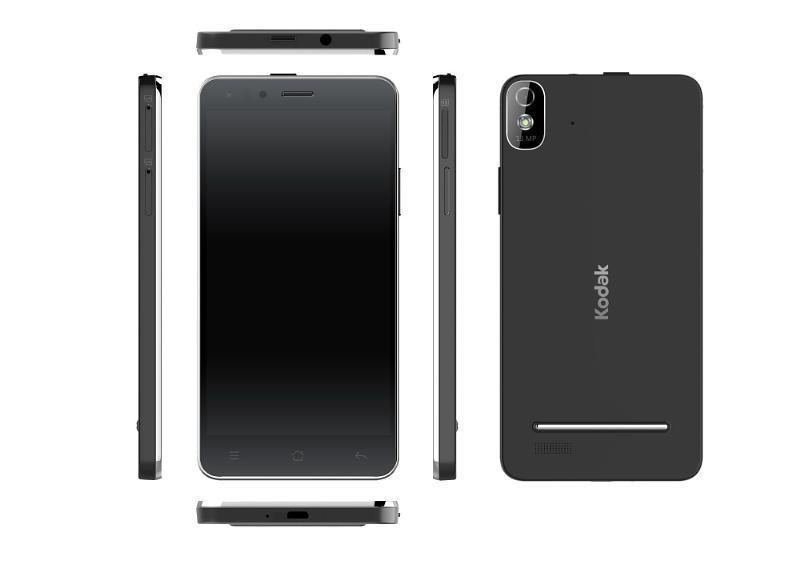 Kodaks Androidbaserte IM5 ser ut som smarttelefoner flest. (Foto: PR Newswire)
