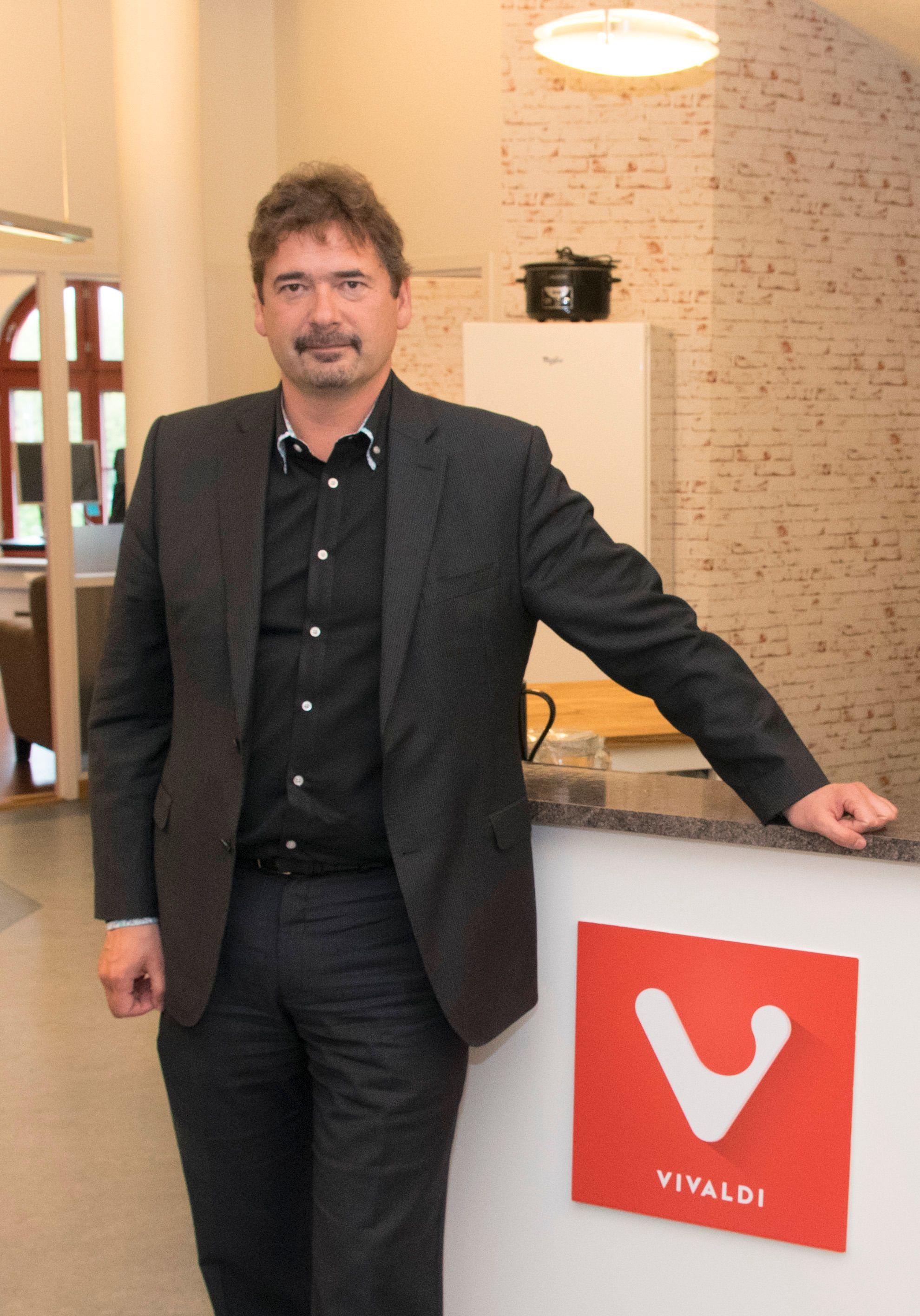 Vivaldi er Jon von Tetzchners andre store nettleserprosjekt. Du kjenner ham kanskje først og fremst som grunnleggeren av Opera Software. Foto: Finn Jarle Kvalheim, Tek.no