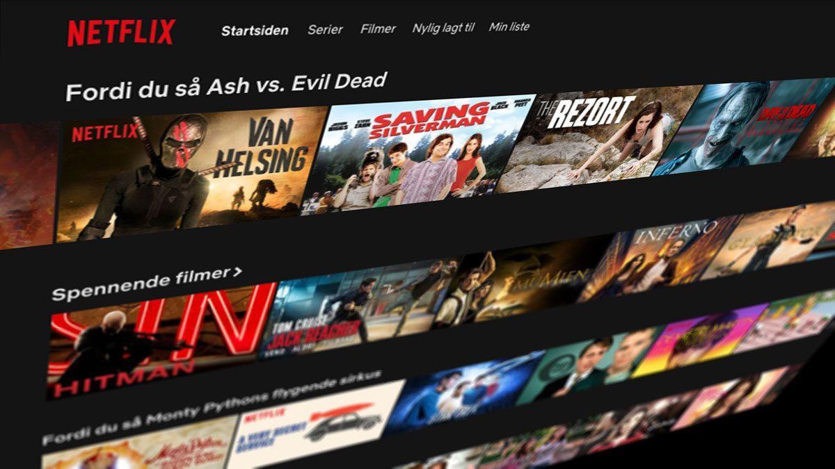 Ville du satt Netflix på shuffle?