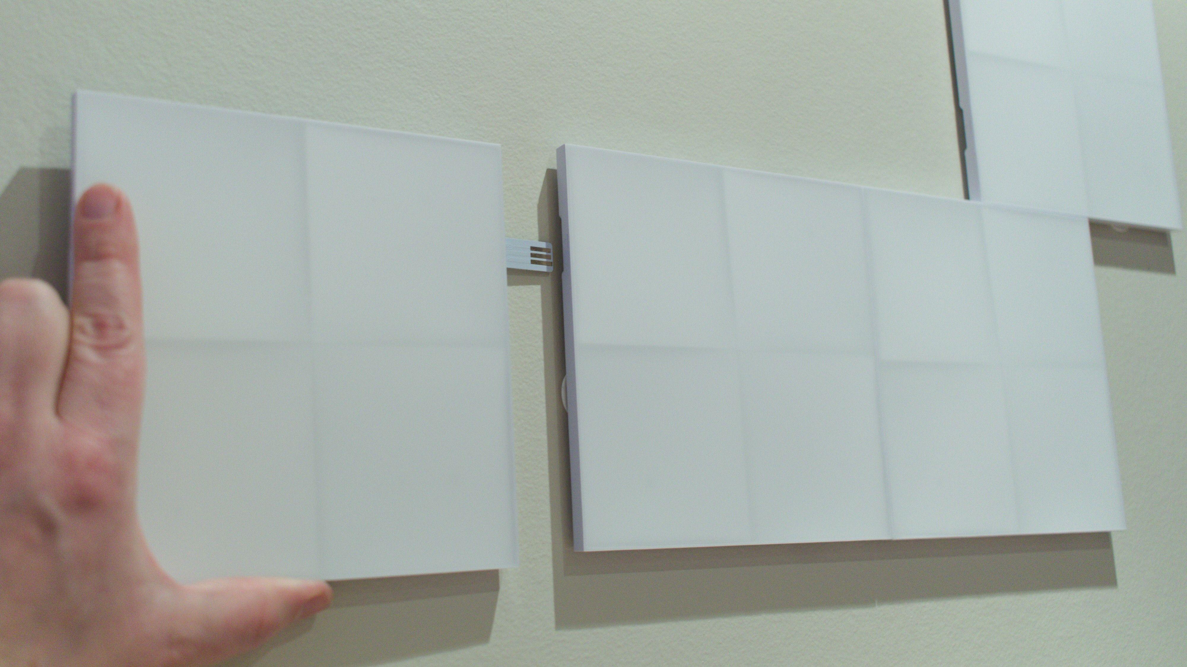 God planlegging lønner seg før du begynner å klistre opp panelene.