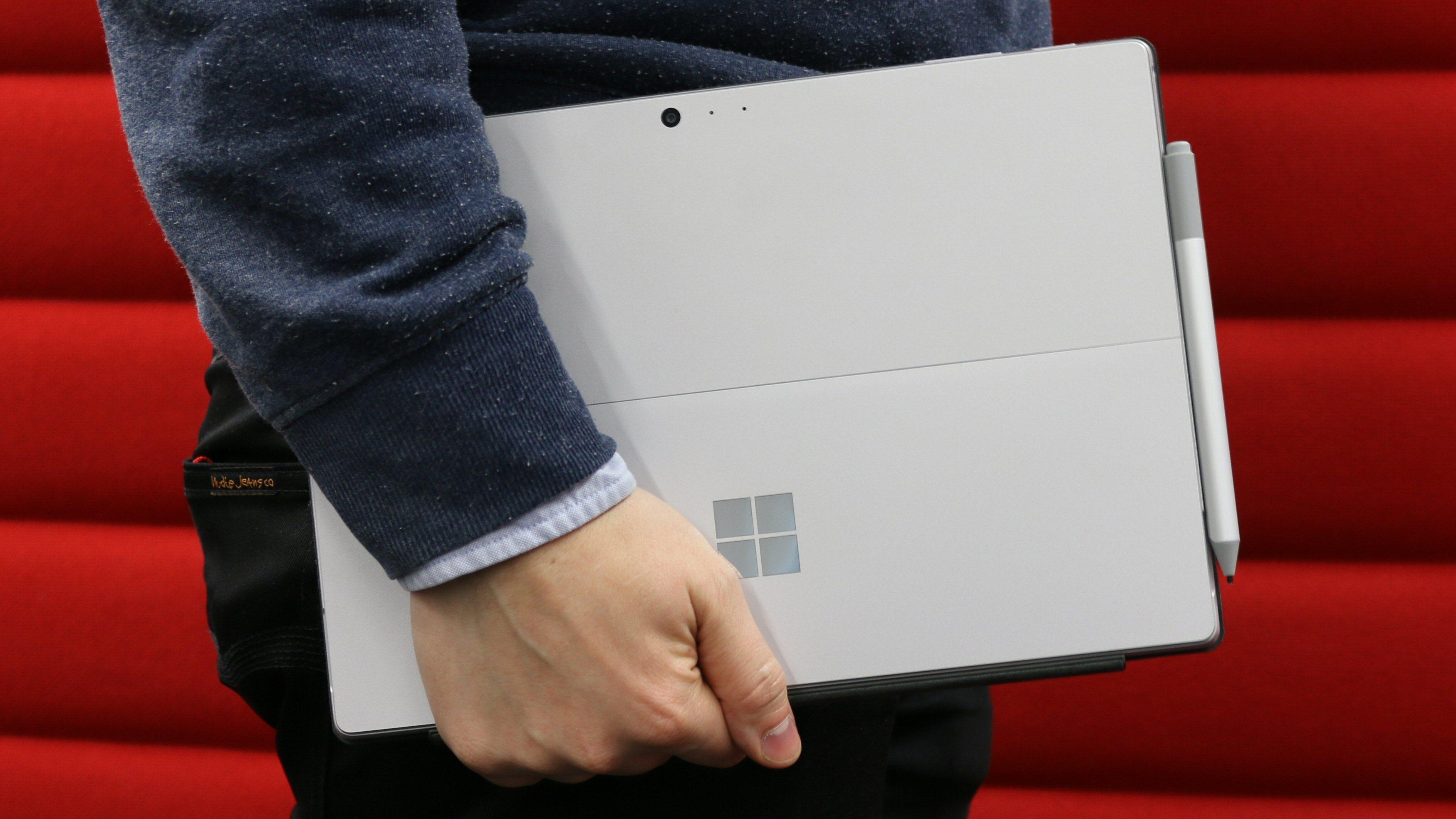 Nye Microsoft Surface Pro med LTE Advanced