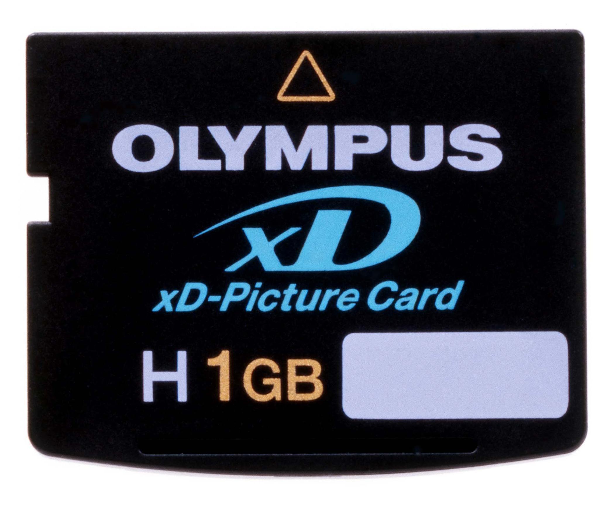 xD-Picture Card - over og ut?