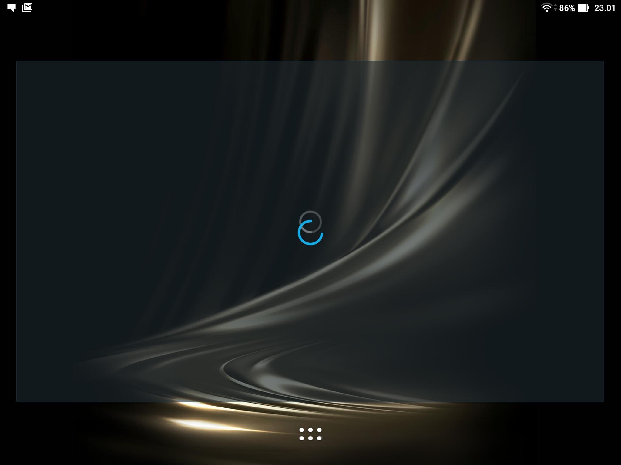 Noen bugs er det også i denne programvaren. Hvis du kjenner til dødens badeball på en Mac, er ikke dette så langt unna. To fremdriftsikoner som har låst seg oppå hverandre. Men skjermdump fikk jeg likevel lov til å ta.