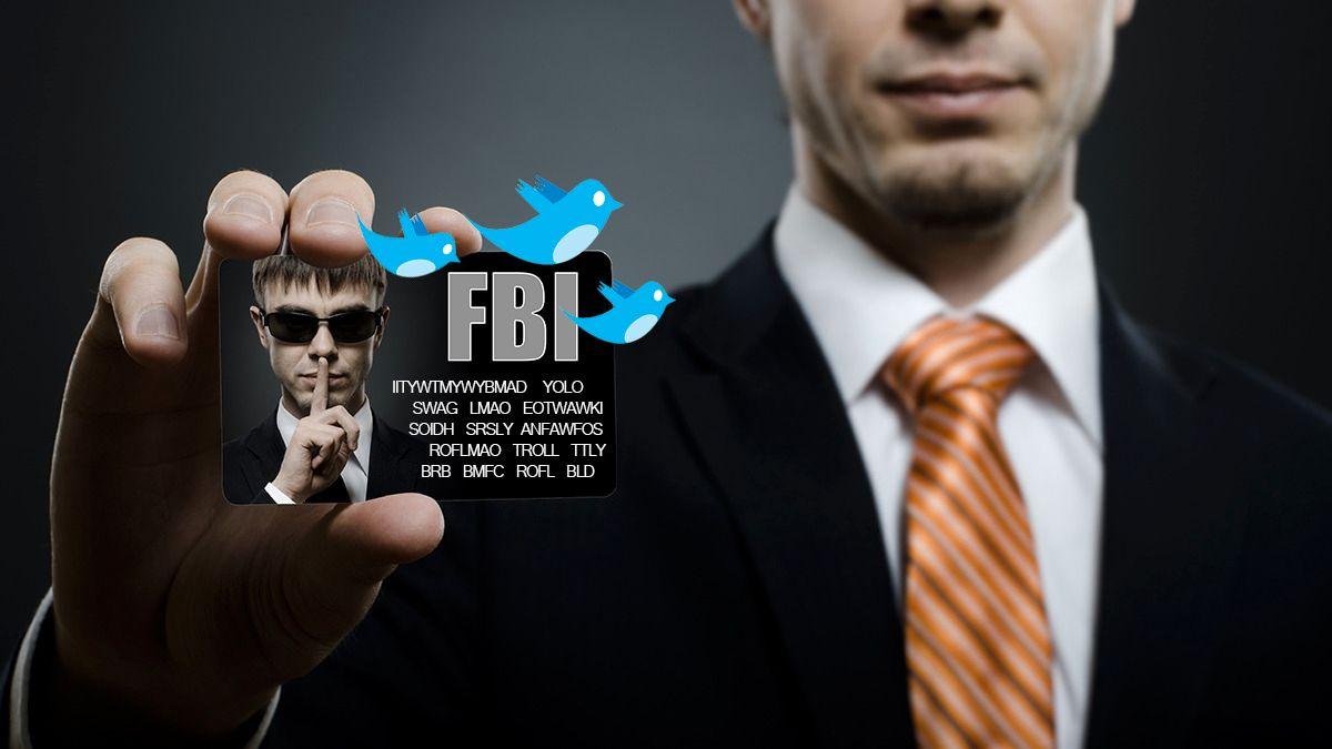 Se FBIs offisielle guide for Twitter-slang